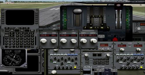 UKFS Airbus A300B4-600ST karazany iray amin'izy io FS2004