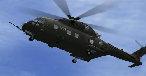 Westland Merlin EH101 v2 FSX & P3D