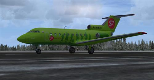 ยาโคฟ Yak-40 FSX  &  FSX-Steam