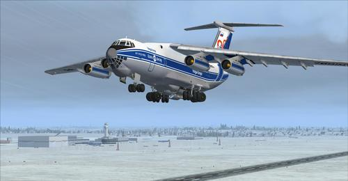 Ilyushin Il-76 MD FSX  &  FSX- Steam