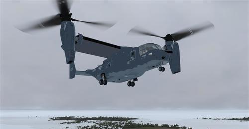 Bell-Boeing MV-22B Osprey FSX-A & P3D