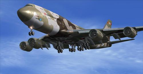 Boeing 747-8 HiRes Paket retro liveries FSX  &  P3D