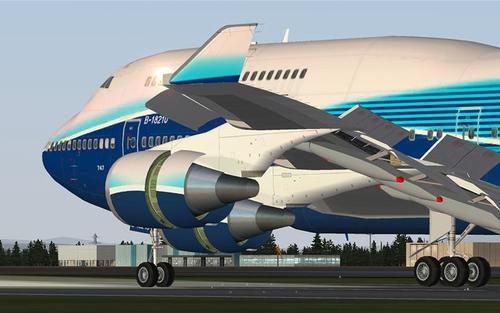 Боинг iFly 747-400 V1.1.0.0 FSX  &  P3D