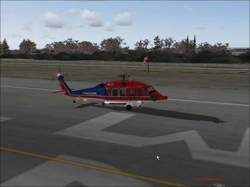 سیکورسکی S-70 FireHawk HH-60F FS2004