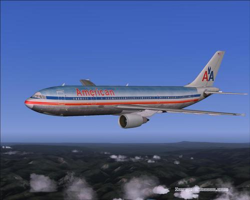 The Ultimate američki A300-600R paket FS2004