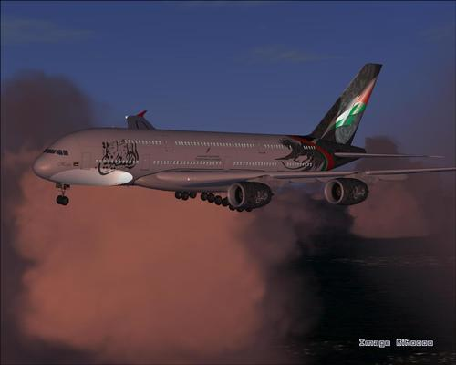 Airbus A380 Palasdinawa Airlines FS2004