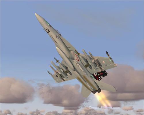 ಬೋಯಿಂಗ್ F / A 18E ಸೂಪರ್ ಹಾರ್ನೆಟ್ FS2004