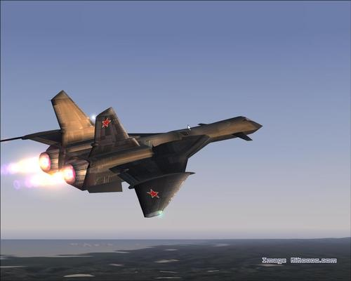 Mig-31 Firefox Rhyng-gipio FS2004