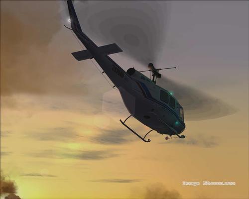 Bell 205 HU-A1 Iroquois FS2004