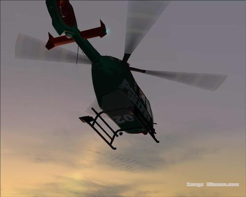Eurocopter EC XNUMX Polizei FSXNUMX