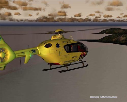 Eurocopter 135 ph-EMS Medical FS2004