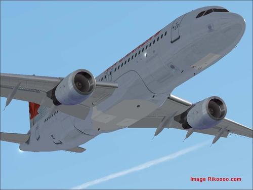 Airbus A320-211 Air Madagascar 2005 FS2004