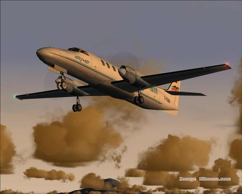 Fairchild City Air Metroliner III Njem FS2004