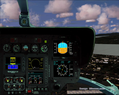 Eurocopter ECXNUMX REGA Swiss Air Rescue FSXNUMX