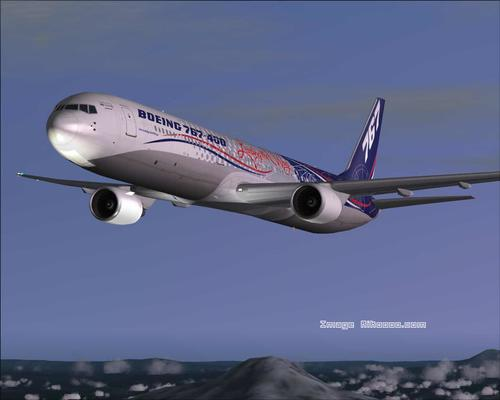 Boeing 767 400-World Tour FS2004