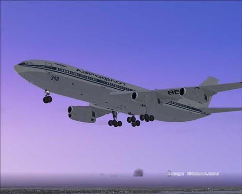 איליושין Il-86 אריזה FS2004