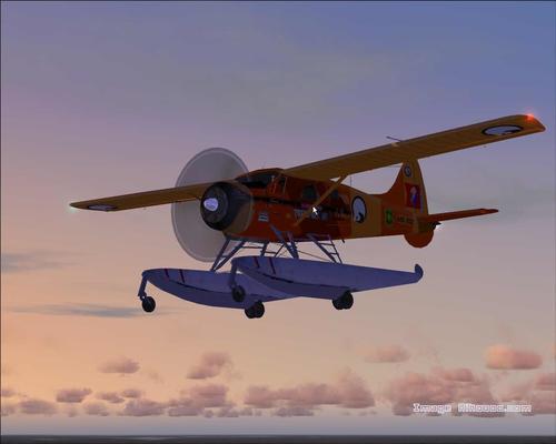 De Havilland DHC2 Beaver Alaska culturali FS2004
