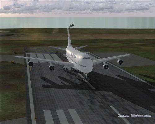 બોઇંગ 747-2U3B ફૂકેટ એર FS2004