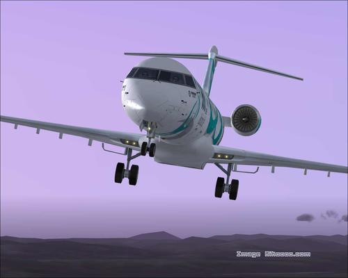 Bombardier CRJ-900 House Colours FS2004