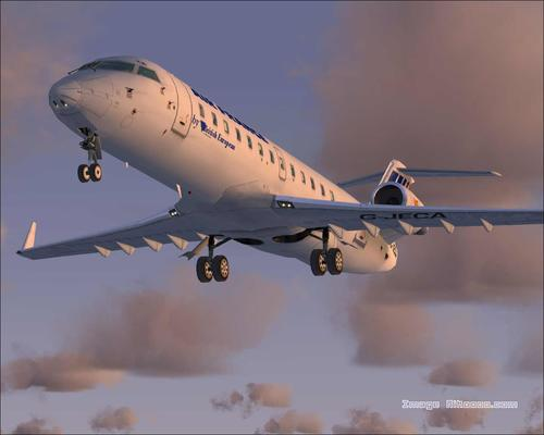 Bombardier CRJ-200 Air France FS2004