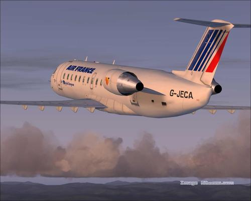 Bombardier CRJ, 200 Air France FS2004