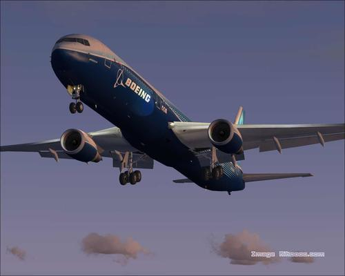 Boeing 767-400 Casa Colours FS2004