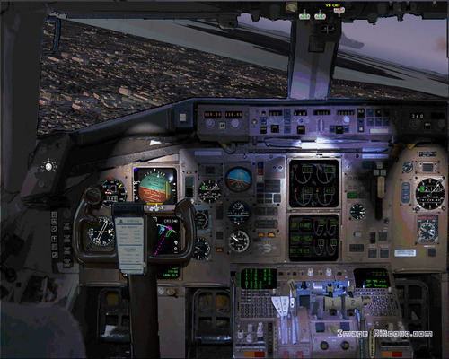 Boeing 767-400 House Noocyo FS2004