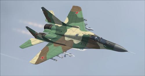 Pacáiste Mega Iris Mig-29 FSX  &  P3D