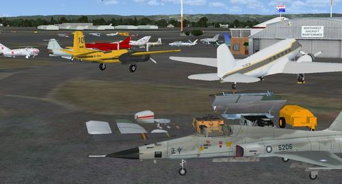 สนามบิน Hillsboro KHIO FSX  &  P3D
