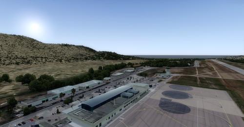 OFXカルビサンカトリーヌ空港LFKC FSX  &  P3D