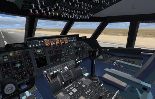 Lockheed C-5 Galaxy Alphasim FSX & P3D