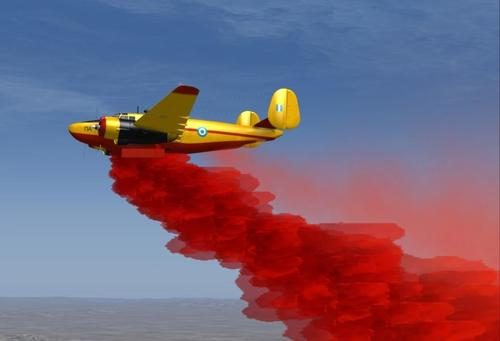 De Lockheed PV-2 Harpoon Fire Tanker Package FSX  &  P3D