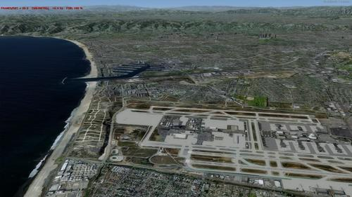 Los Angel Aera Photoreal FSX  &  P3D