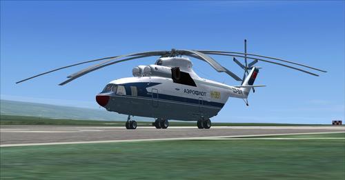 Mil Mi-26 FSX  &  P3D