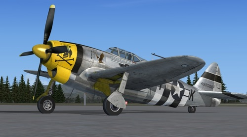 Republic XP-47J Escort FSX  &  P3D