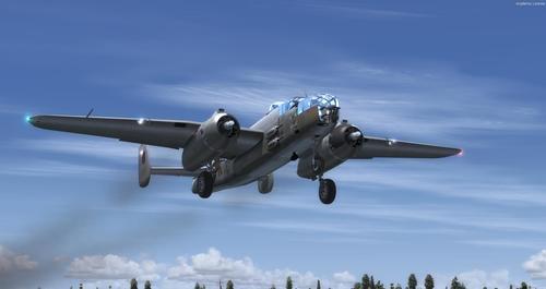 North America B-25J RAF MkII FSX  &  P3D