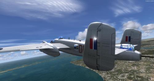 Nò Ameriken B-25J RAF MkII FSX & P3D