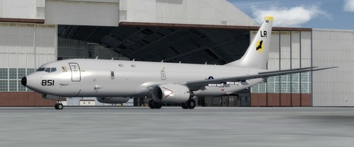 Boeing P8-A Poseidon FSX  &  P3D