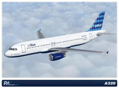 Mega Pack JetBlue A320 FSX  &  P3D