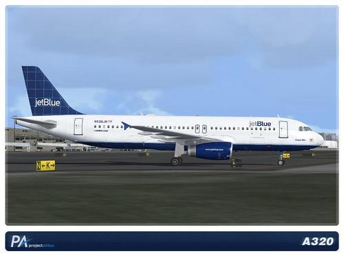 JetBlue A320 Mega Pack FSX & P3D