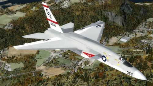North American RA-5C Vigilante FSX & P3D