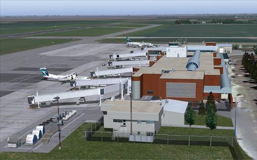 רגינה Intl Airport CYQR FS2004