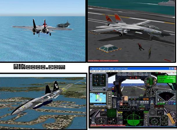 F-14d Tomcat Porte Avion