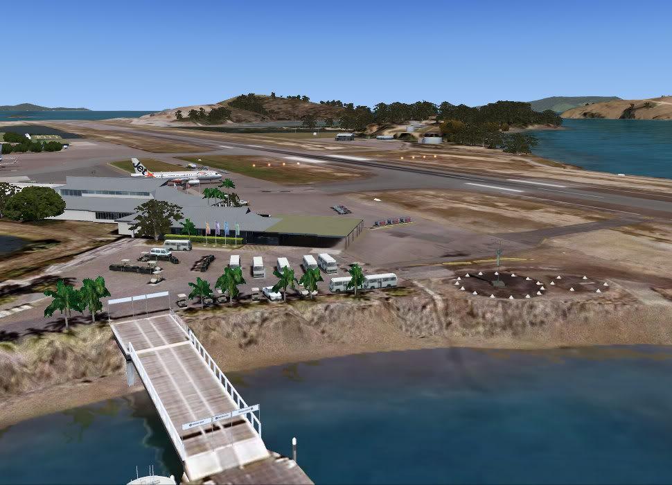 Hamilton Island FSX P3D Dock1