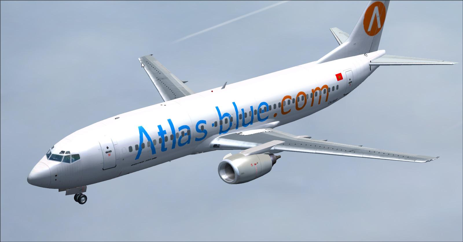 Boeing 737-400 Atlas-Blue