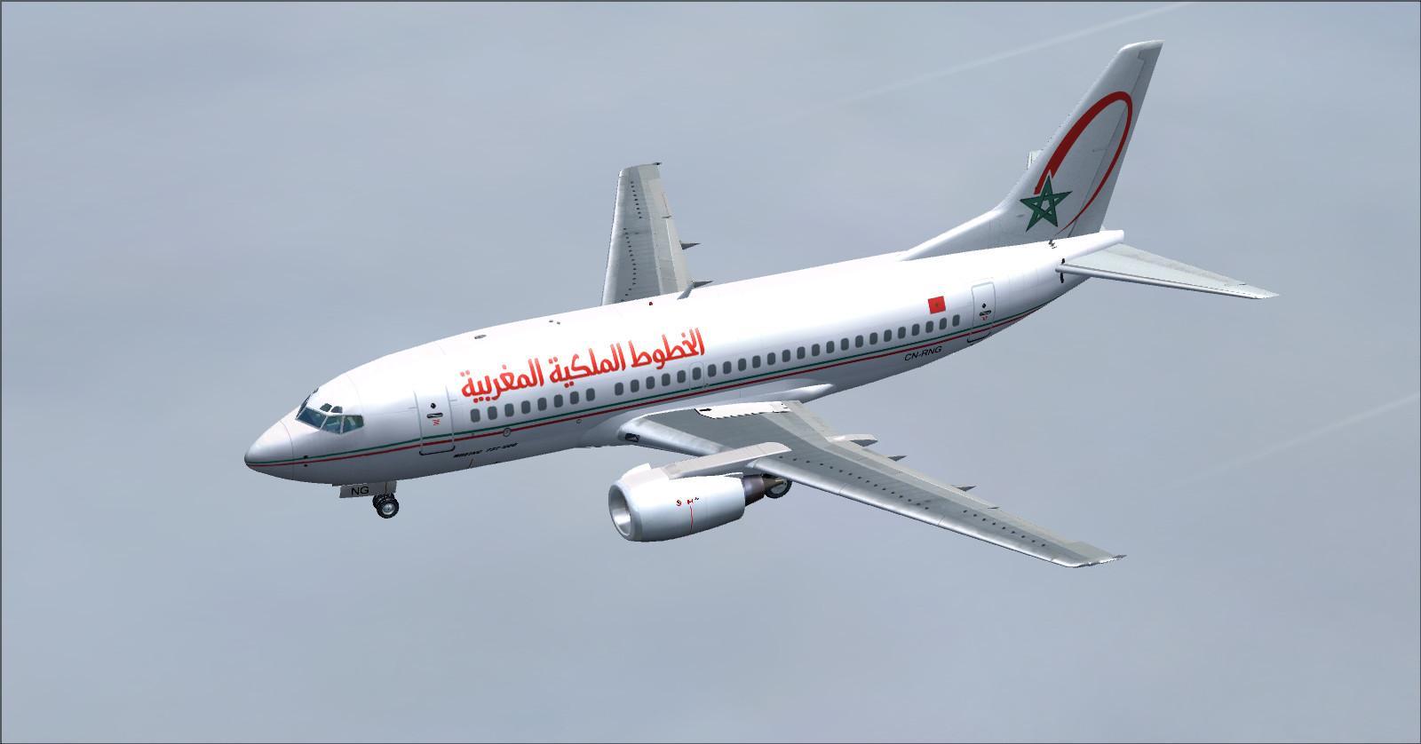 Boeing 737-500 RAM