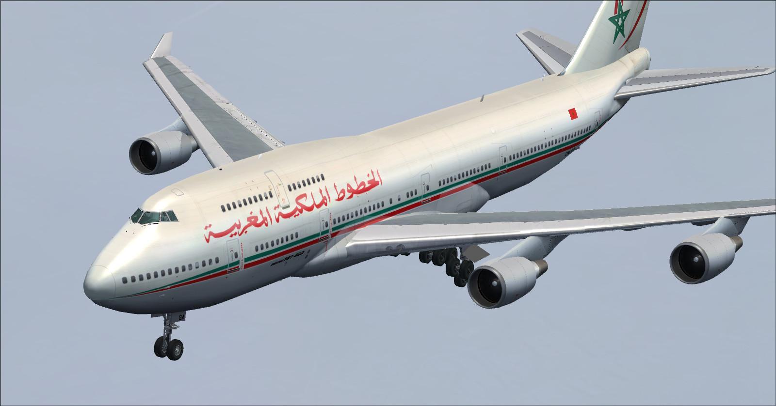 Boeing 747-400 RAM