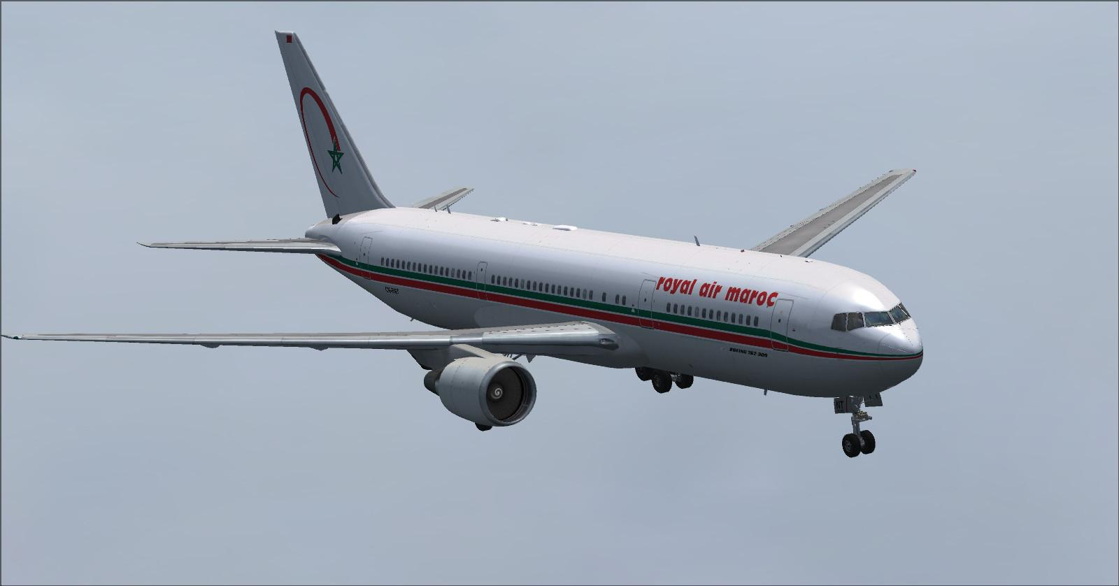 Boeing 767-300 RAM