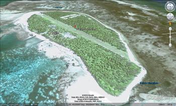 platte insulă degetul mare